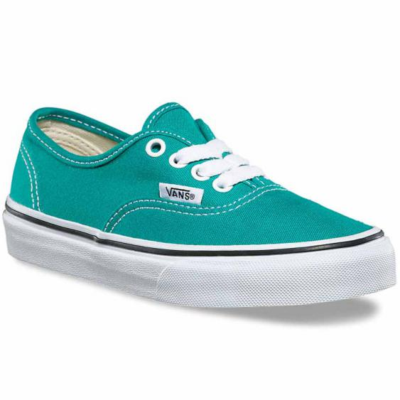 Vans Authentic Teal Blue / White VN0A38H3OVV (Youth)