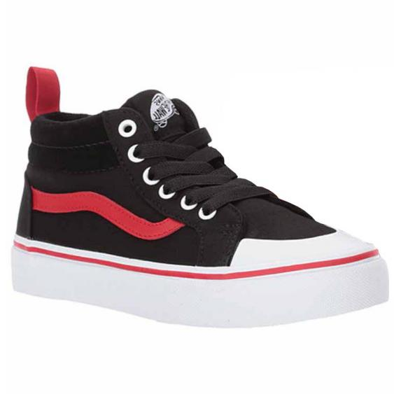 Vans Racer Mid Pop Black / Red VN0A38HFORC (Youth)