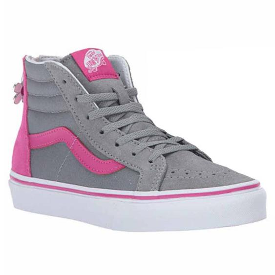 Vans SK8-HI Zip Flower Monument / Berry VN0A3276OE3 (Youth)