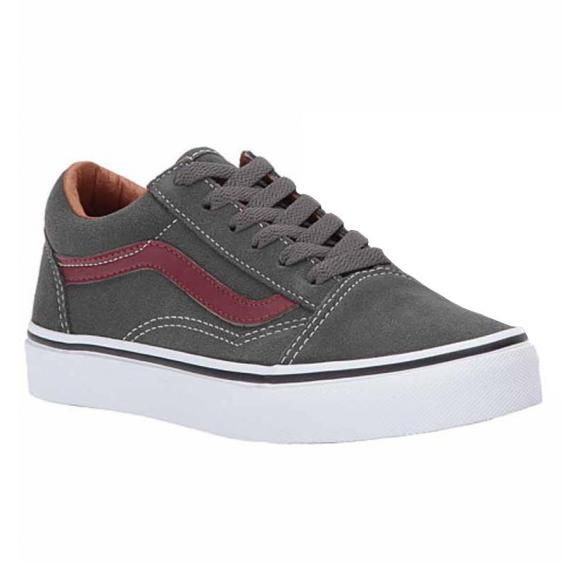 Vans Old Skool Suede Gunmetal / Brown VN0A38HBOIR (Youth)