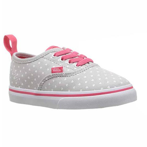 Vans Authentic EL Micro Heart Microchip / Pink VN0A38E8OFK (Infant)