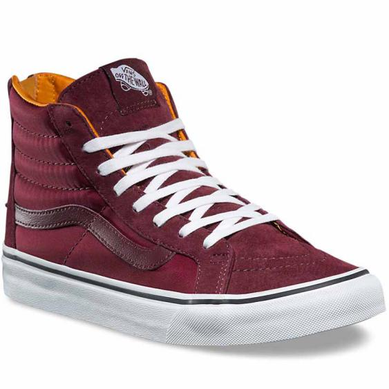 Vans SK8-HI Slim Zip Boom Port Royale VN0A38GROC7 (Women's)