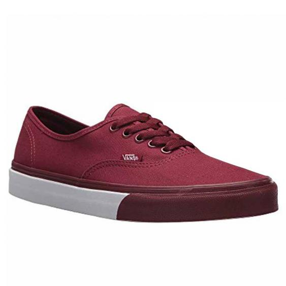 Vans Mono Bumper Authentic Cabernet / White VN0A38EMQ7H (Men's)