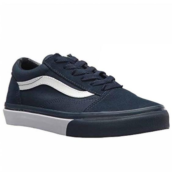 Vans Old Skool Mono Bumper Dress Blues / White VN0A38HBQ7I (Youth)