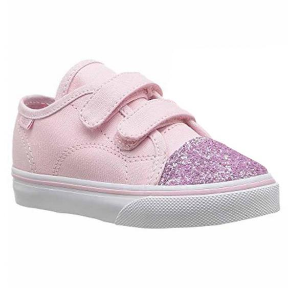 Vans Glitter Toe Style 23V Chalk Pink VN0A3JEVQ8G (Infant)