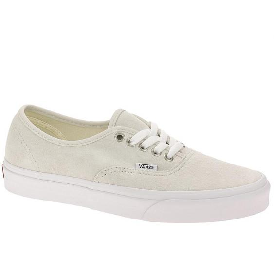 Vans Authentic Pig Suede Moonbeam/ White VN0A38EMU5L (Women's)