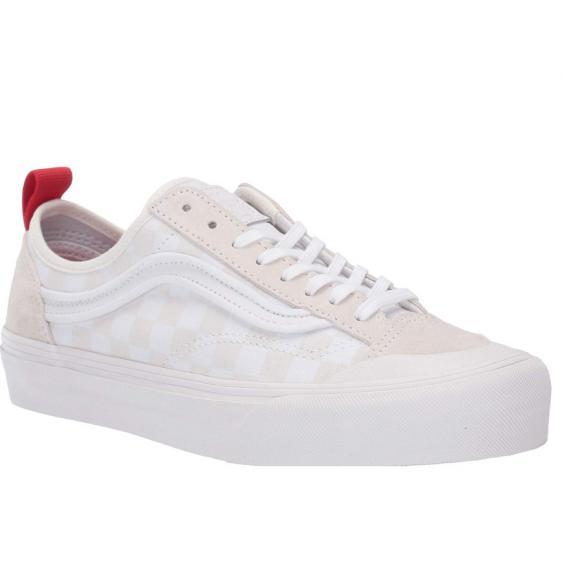 Vans Style 36 Decon SF White/ Checkerboard VN0A3MVLVL8 (Women's)