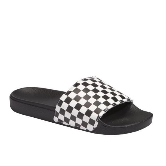 Vans Slide-On White Checkerboard VN0004KIIP9 (Men's)