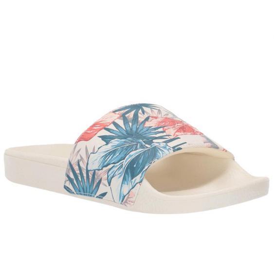 Vans Slide-On Marshmallow (Vintage Rio) VN0A45JQVVK (Women's)
