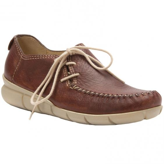 Wolky Saponi Brown Mighty Greased Leather 731-530 (Women's)