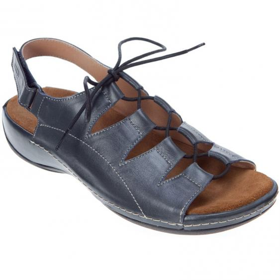 Wolky Kite Navy Smooth Leather 310-382 (Women's)