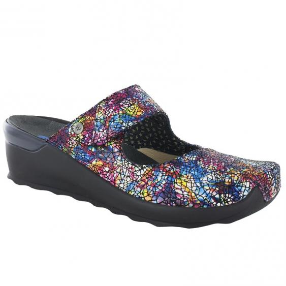 Wolky Up Multi Crash Suede 2576-497 (Women's)