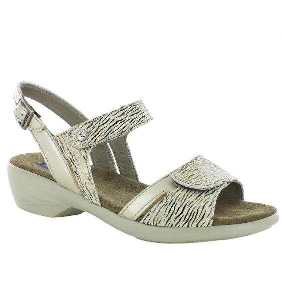 Wolky Agua Beige Canals Patent 777-439 (Women's)