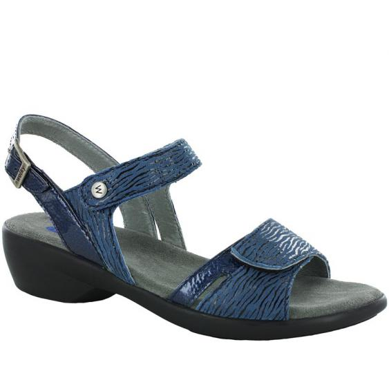 Wolky Agua Denim Canals Patent 777-482 (Women's)
