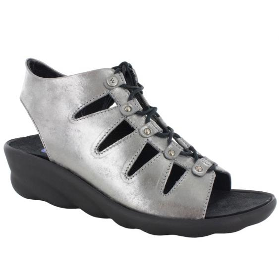 Wolky Arena Light Gray Amalia Nubuck 3126-120 (Women's)