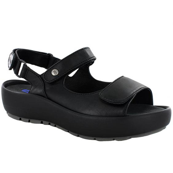 Wolky Rio Black Mighty Leather 3325-300 (Women's)