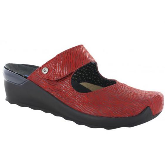 Wolky Up Red Canals 2576-750 (Women's)