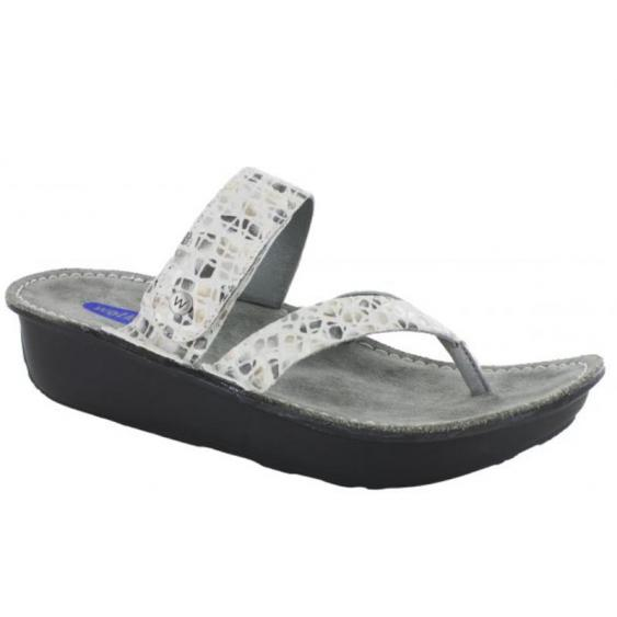 Wolky Tahiti OffWhite-Gray Marble 6180-93-120 (Women's)