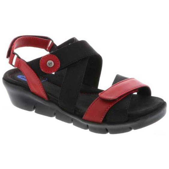 Wolky Electra Red Vegi Leather 667-50-500 (Women's)