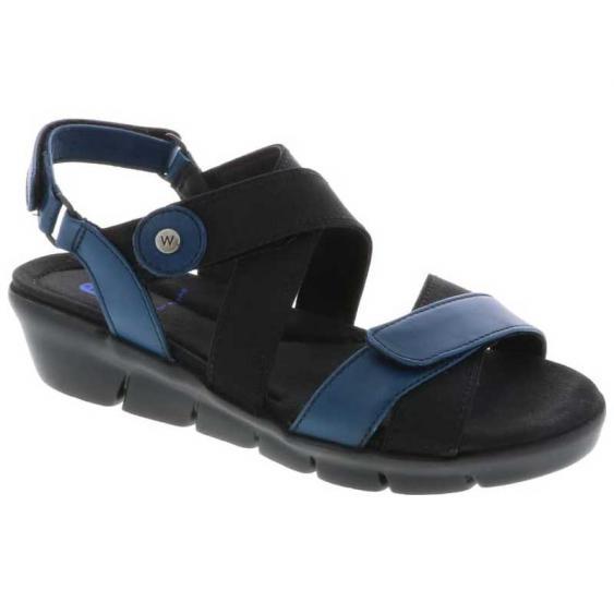 Wolky Electra Blue Vegi Leather 667-50-800 (Women's)