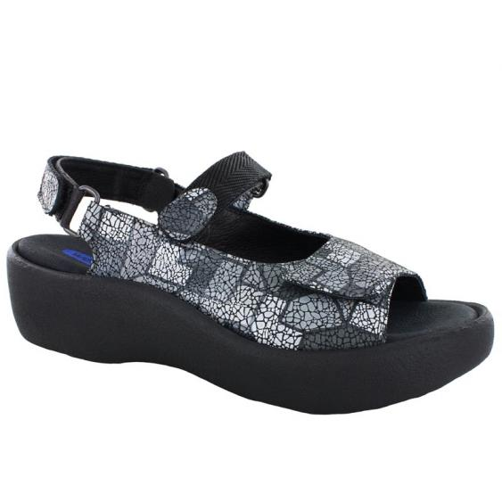 Wolky Jewel Gray Picasso Crash 3204-94-200 (Women's)