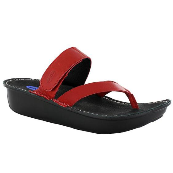 Wolky Tahiti Red Mighty 6180-350 (Women's)