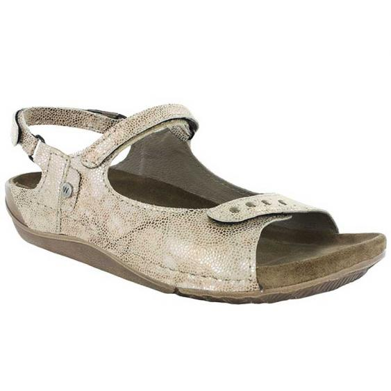 Wolky Cortes Beige Caviar Leather 530-639 (Women's)
