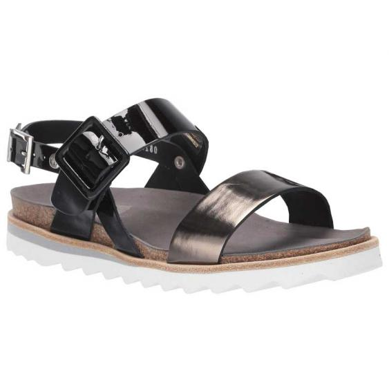 Wolky Minori Black/ Bronze 8225-60-001 (Women's)