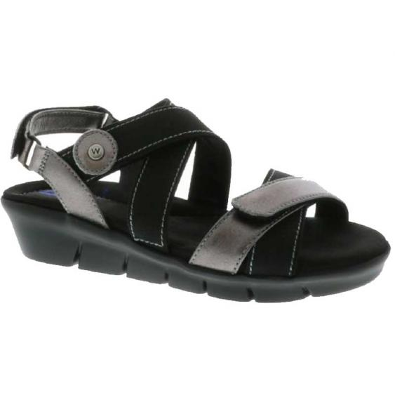 Wolky Electra Anthracite Biocare Metallic 667-08-210 (Women's)