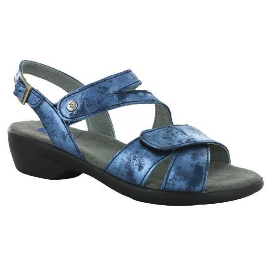 Wolky Fria Blue Amalia Nubuck 776-180 (Women's)