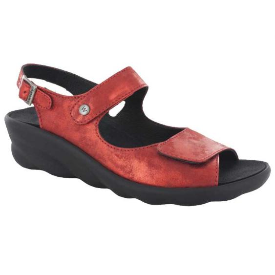 Wolky Scala Red Amalia Nubuck 3125-150 (Women's)