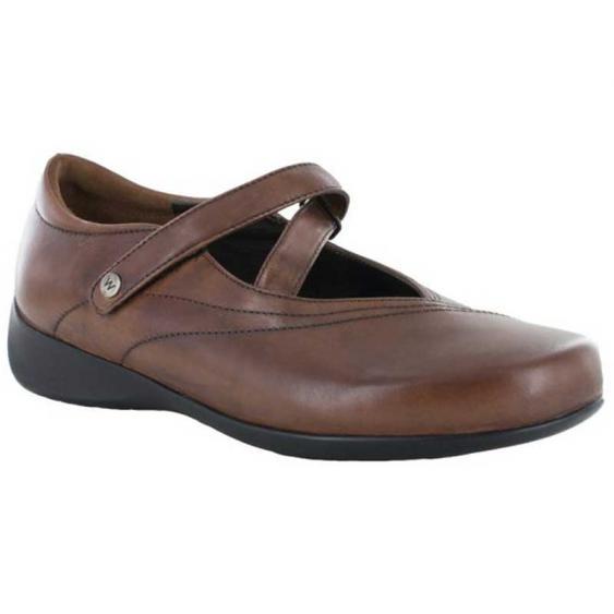 Wolky Passion Cognac Vegi Leather 350-543 (Women's)