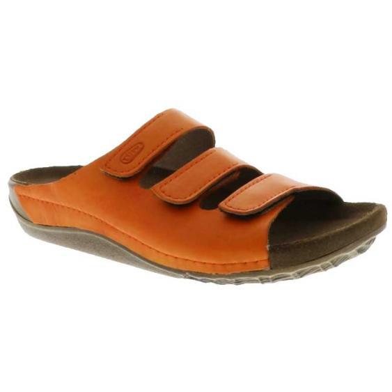 Wolky Nomad Orange Vegi Leather 532-50-550 (Women's)