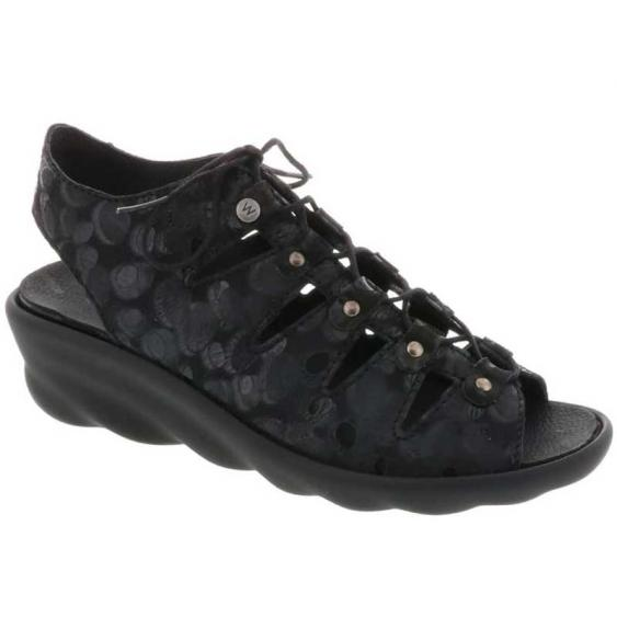 Wolky Arena Black Circles 3126-12-000 (Women's)